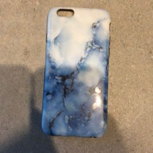 blue marble phone case!